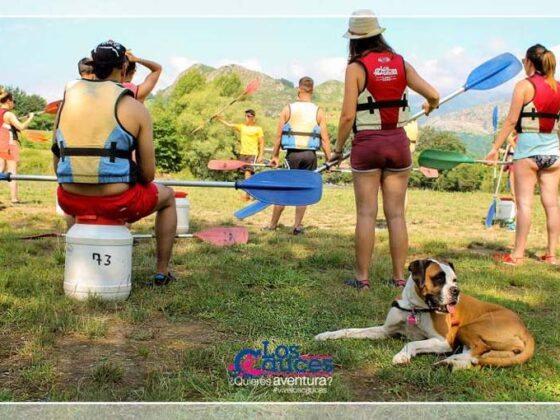 Lánzate al Sella con tu perro - Descenso del Sella con perro - LOS CAUCES MULTIAVENTURA