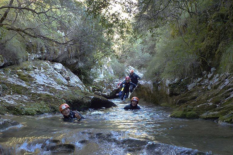 Los mejores barrancos de Asturias. Los Cauces