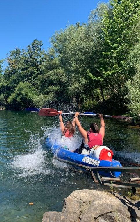 Actividades de Aventura en Asturias, Descenso del Sella en Canoa