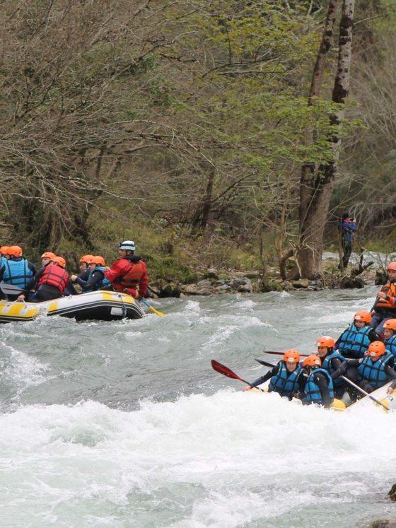 Rafting Los Cauces