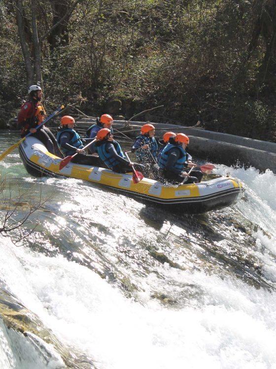 Los Cauces Rafting en Asturias