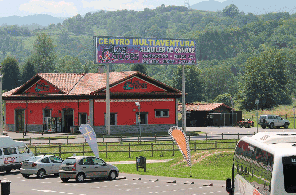 Viajes de Estudios en Asturias Parking
