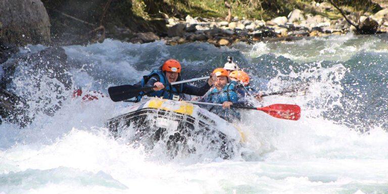 Rafting en Asturias Arriondas