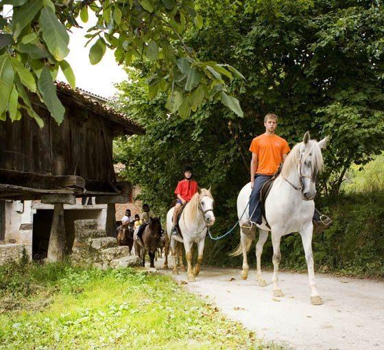 Ofertas de rutas a caballo en Asturias - Los Cauces MultiAventura