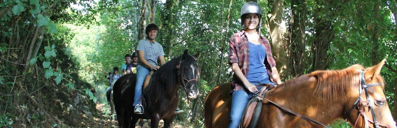 Actividades de Aventura en Asturias. Ruta a Caballo